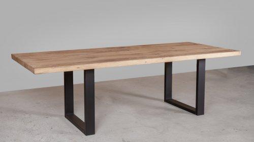 Robuuste Eikenhouten tafel XR45