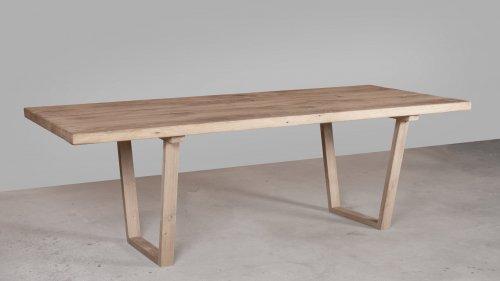 Robuuste Eikenhouten tafel XR46