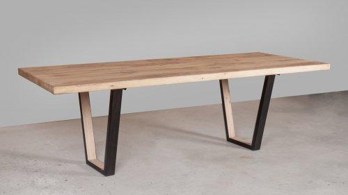 Robuuste Eikenhouten tafel XR47