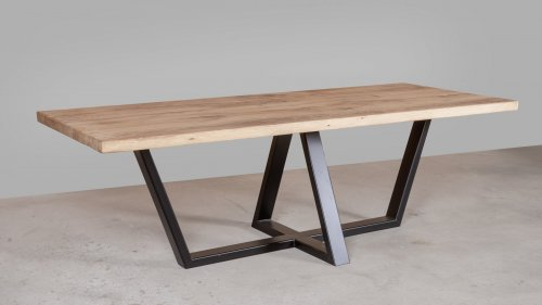 Robuuste Eikenhouten tafel XR48