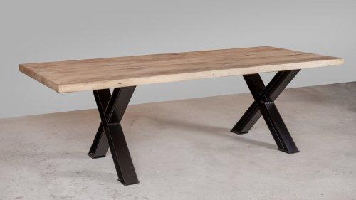 Robuuste Eikenhouten tafel XR50