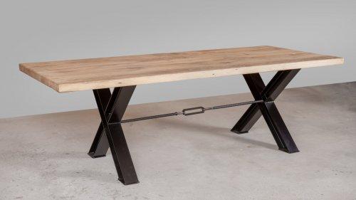Robuuste Eikenhouten tafel XR51