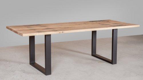 Eikenhouten tafel spoorbiels XB81