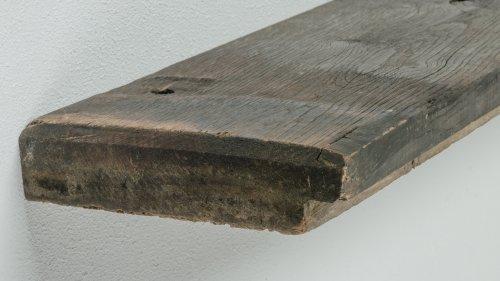 Wandplank oud hout Graanschuur - tot 90 cm breed