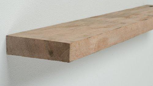 Wandplank oud hout Wagonplank Hardhout - 90 cm breed