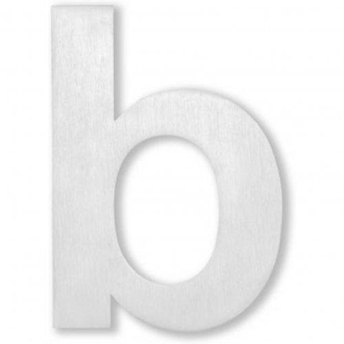Huisnummer Letter A - 15cm Geborsteld RVS