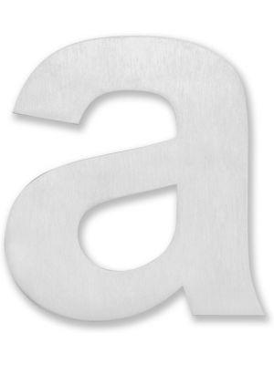 Huisnummer Letter A - 20cm Geborsteld RVS