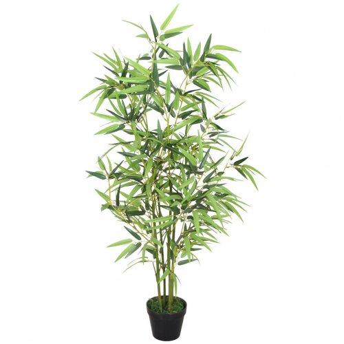 Kunst bamboe plant